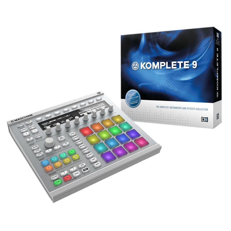 NATIVE INSTRUMENTS MASCHINE MKII WHITE + KOMPLETE 9