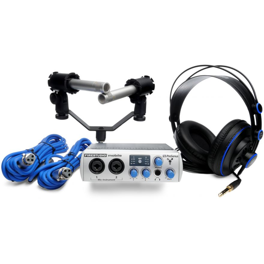 PRESONUS FS MOBILE STUDIO Bundle - KIT DI REGISTRAZIONE COMPLETO