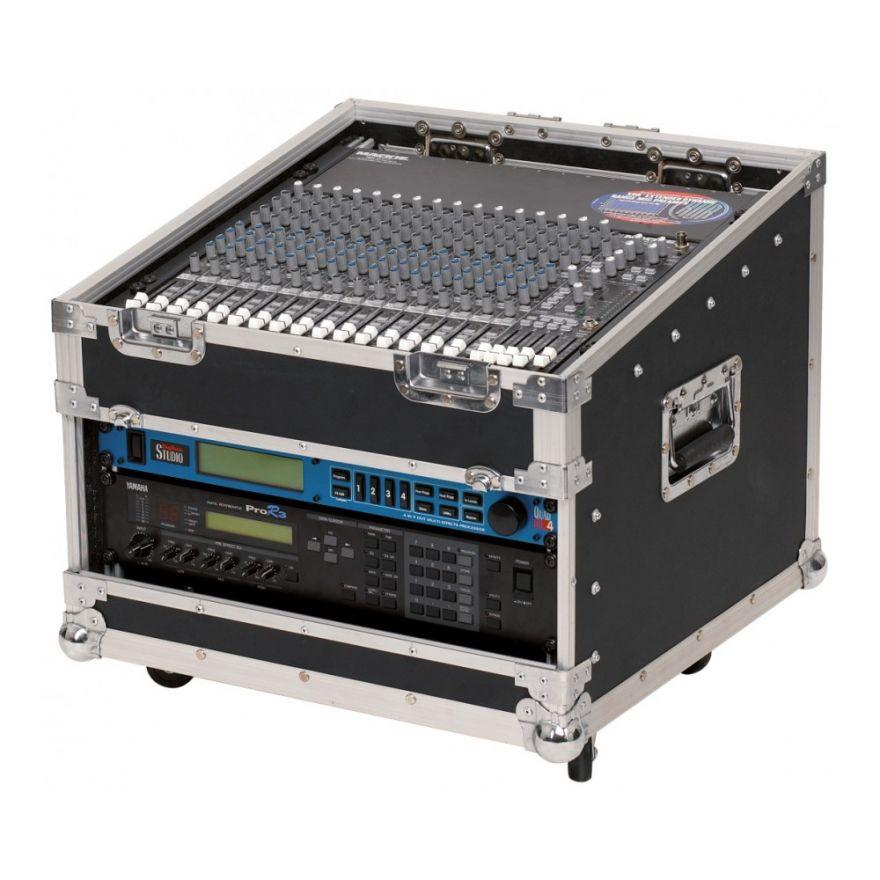 ROCKCASE RC23711B Mixcase con ruote per Mackie MS 1604/42 VLZpro