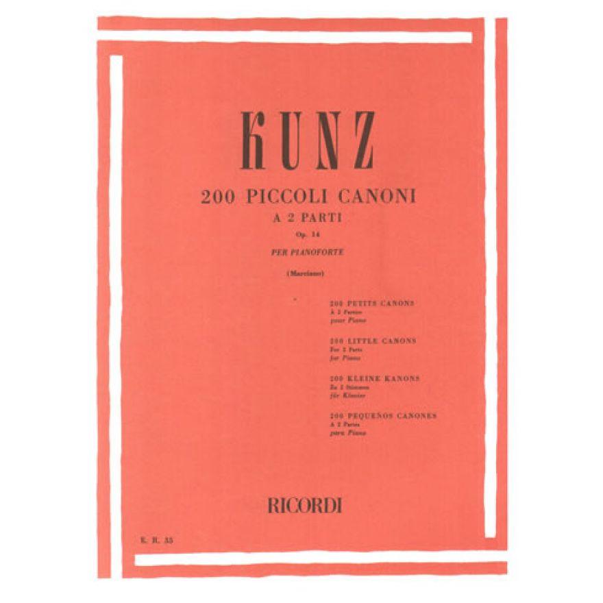 0-RICORDI Kunz, Konrad Max