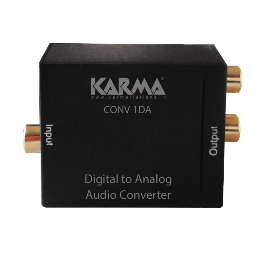 KARMA CONV 1DA - Convertitore audio digitale-analogico