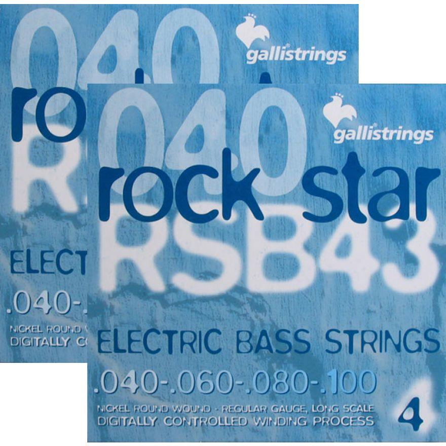 Galli RSB43 Double Set - 2 MUTE PER BASSO 4 CORDE (040-100)