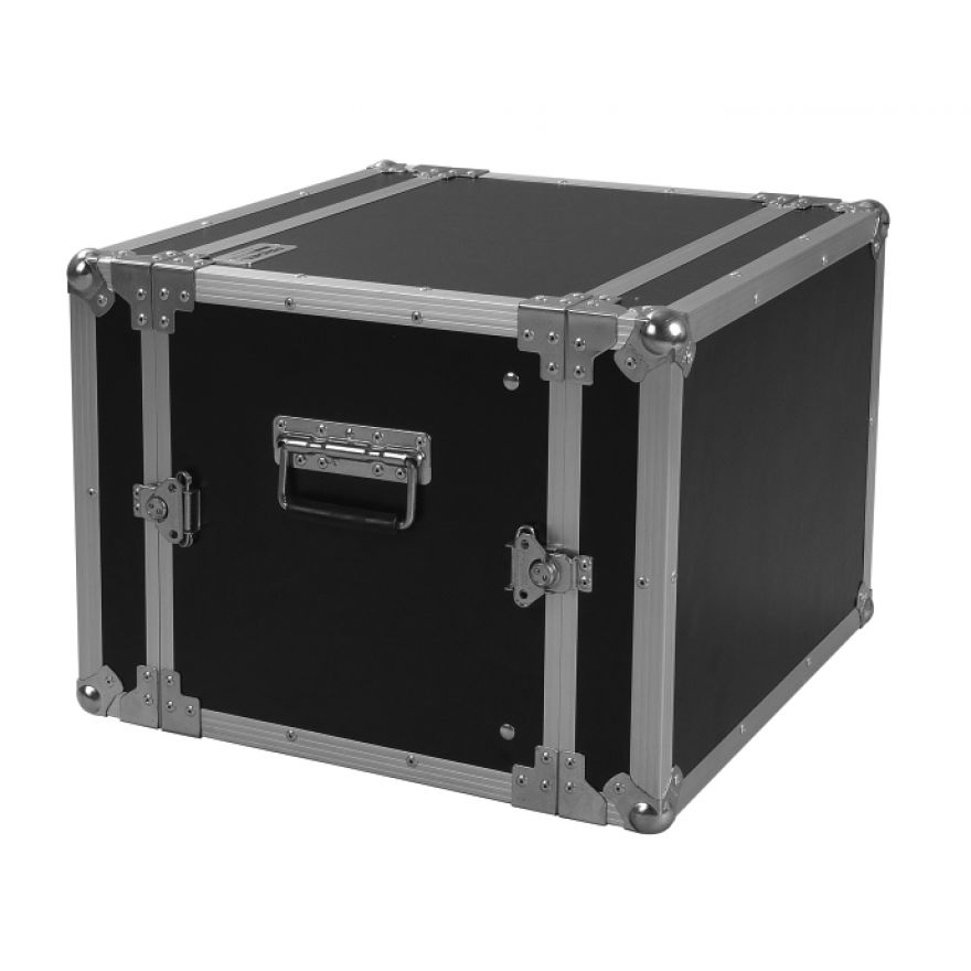 PROEL CR108BLKM - Flight case 8U a rack 19