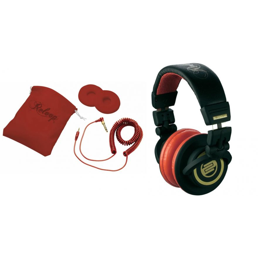 RELOOP RHP10 Cherry Black - CUFFIA PROFESSIONALE PER DJ