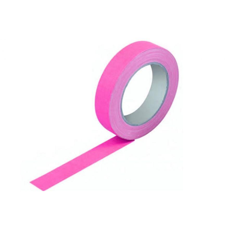 PROEL GAFFAPKF25 - gaffa tape professionale fluorescente in tessuto
