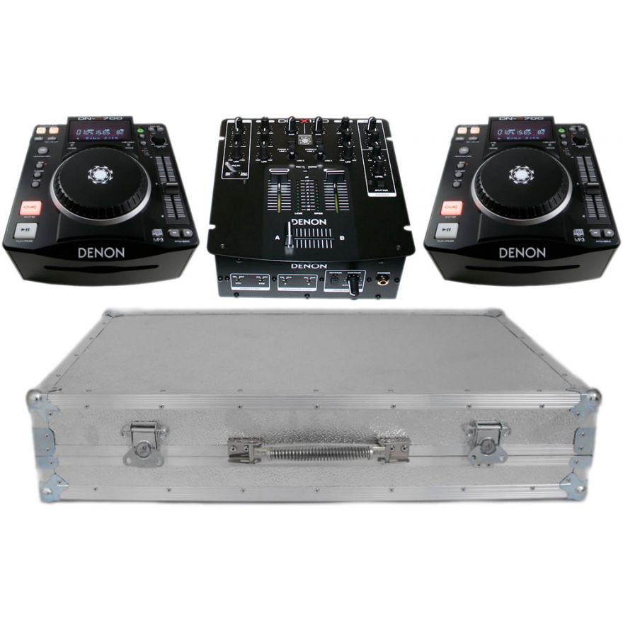 DENON KIT 01 [DNX120 + 2 DNS700 + CASE] Deejay set