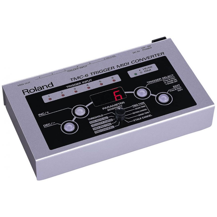 ROLAND TMC6 - CONVERTITORE TRIGGER/MIDI