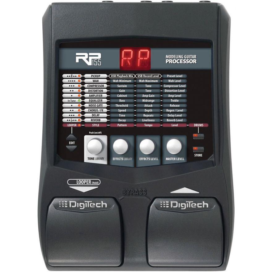 DIGITECH RP155 - MULTIEFFETTO PER CHITARRA + Alimentatore PSU