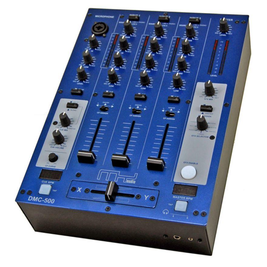 MyAudio DMC500USB - MIXER DJ 4 CANALI CON 2 PORTE USB