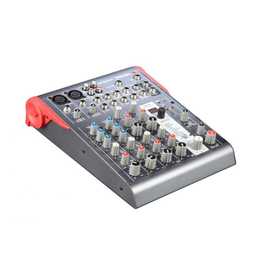 PROEL Mi10 - Mixer 10 input 2 output con effetti