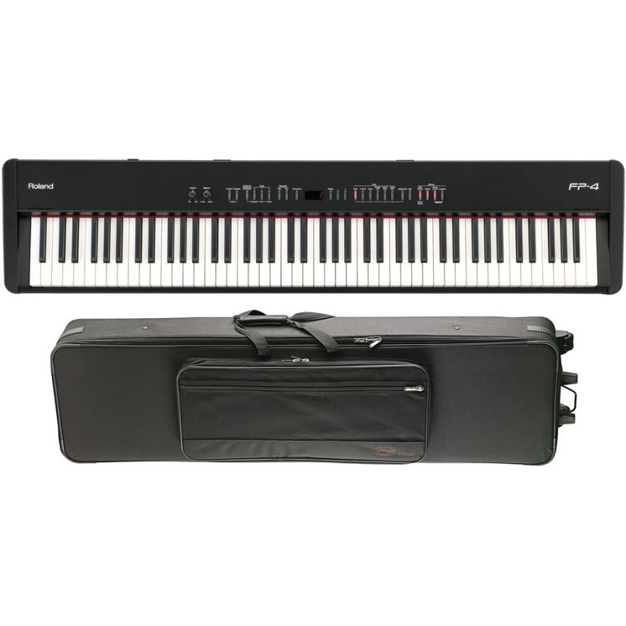 Roland FP4 Digital Piano + Tolley Semi Rigido