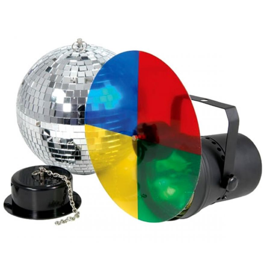 TRONIOS SET 30cm BALL PAR36 COLWh 220V - KIT SFERA + PAR + RUOTA