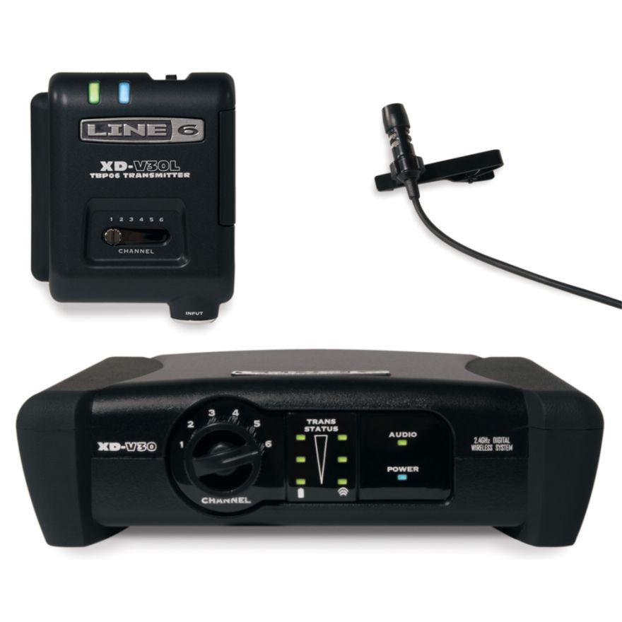 LINE6 XD V30L - RADIOMICROFONO DIGITALE LAVALIER