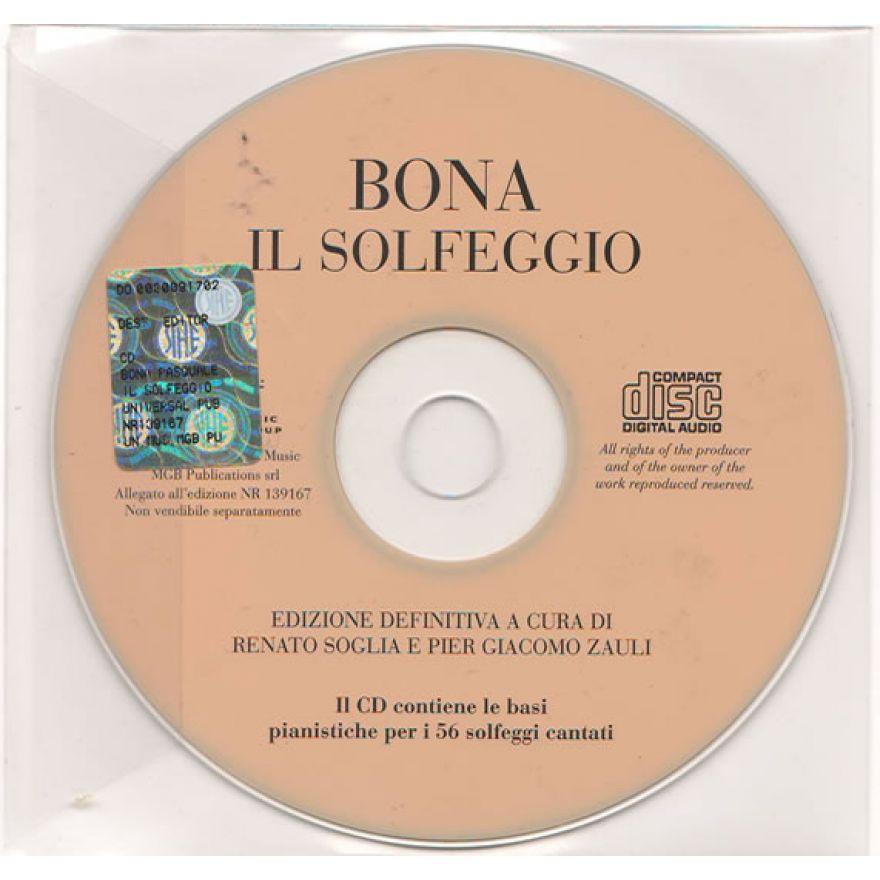 RICORDI Bona, Pasquale - CD IL SOLFEGGIO