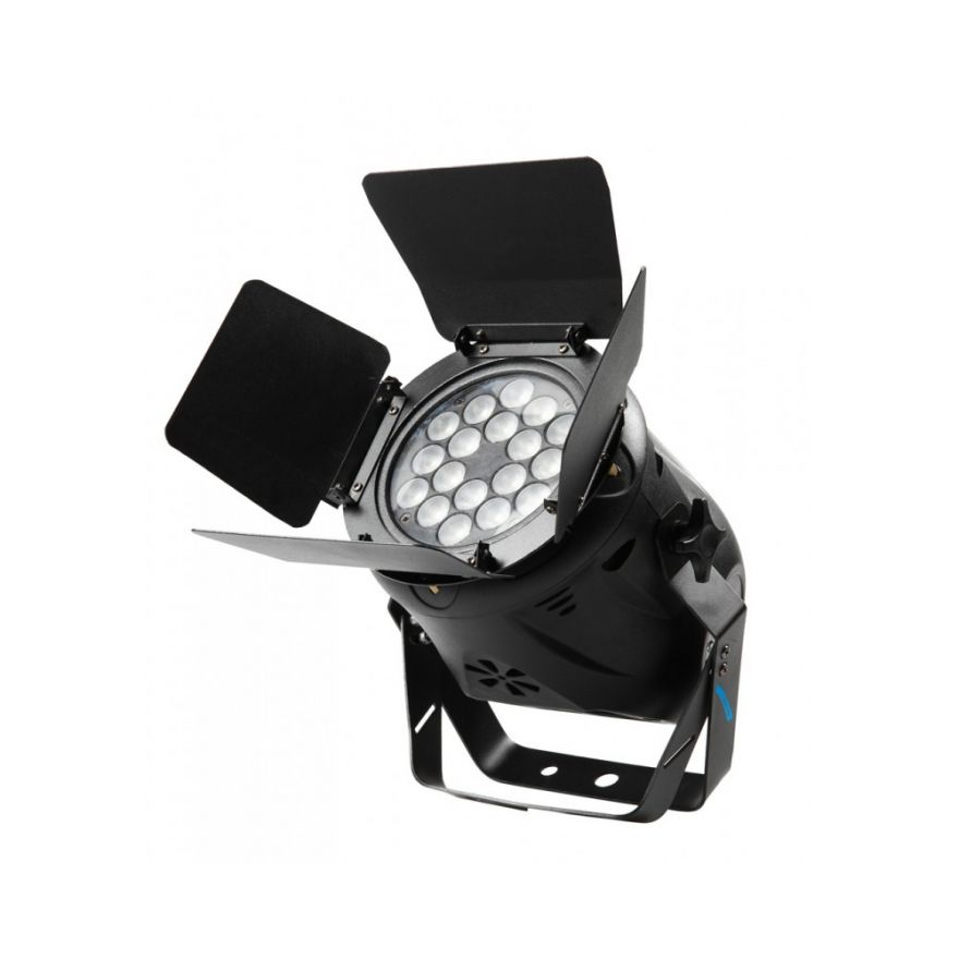 PROEL MINI SPOT 18 LED RGB 3W CON ALETTE PARALUCE