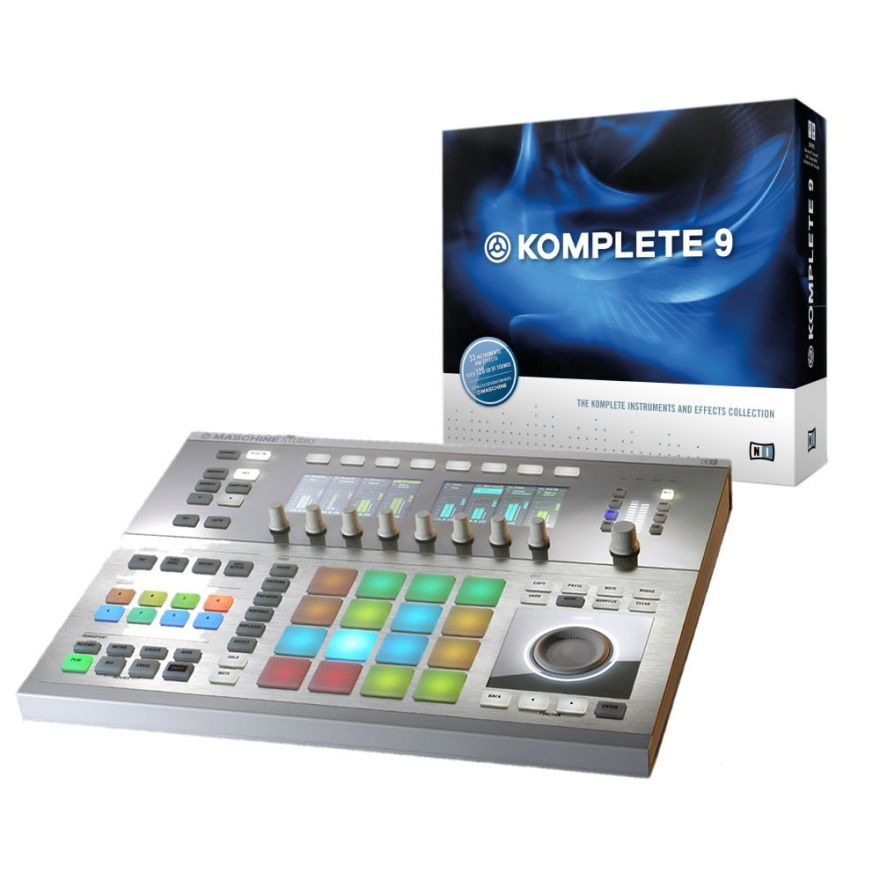NATIVE INSTRUMENTS MASCHINE STUDIO WHITE + KOMPLETE 9