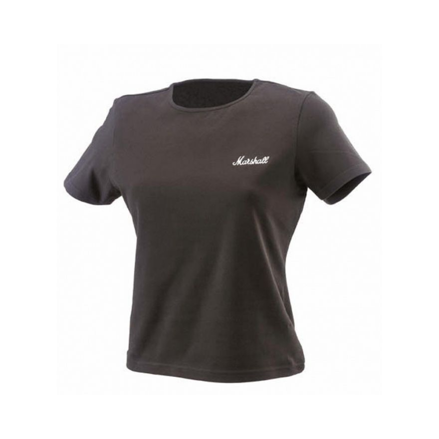 MARSHALL Crew - Neck T-shirt da donna con Logo (L)  - SHRT00091