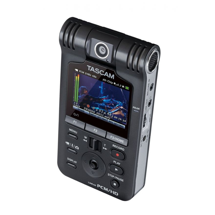TASCAM DR-V1HD - REGISTRATORE DIGITALE AUDIO VIDEO HD