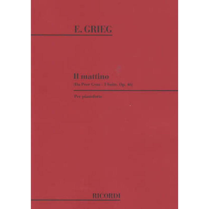 0-RICORDI Grieg - IL MATTIN