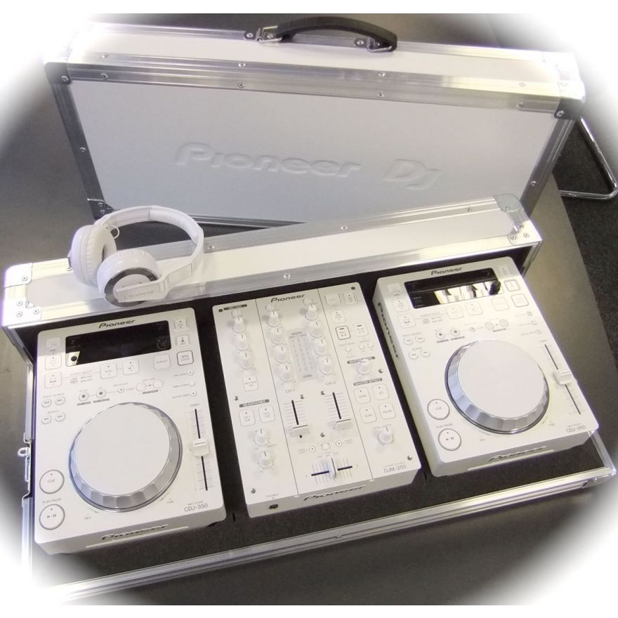 PIONEER 350-W PACK [CDJ350W + DJM350W + HDJ500W + CASE]