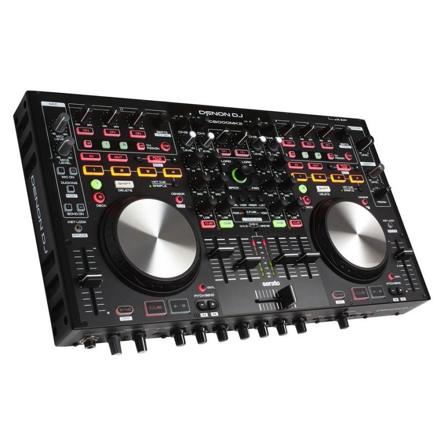 DENON MC6000 MKII - CONTROLLER PER DJ CON MIXER INTEGRATO
