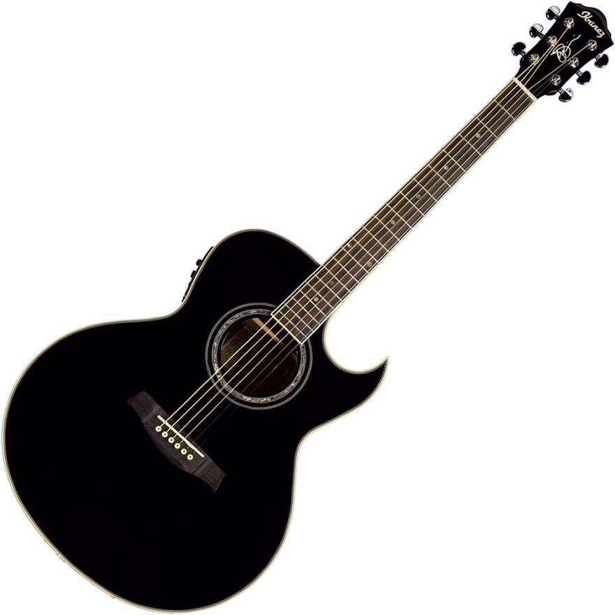 IBANEZ JSA5 BK Joe Satriani - CHITARRA ACUSTICA