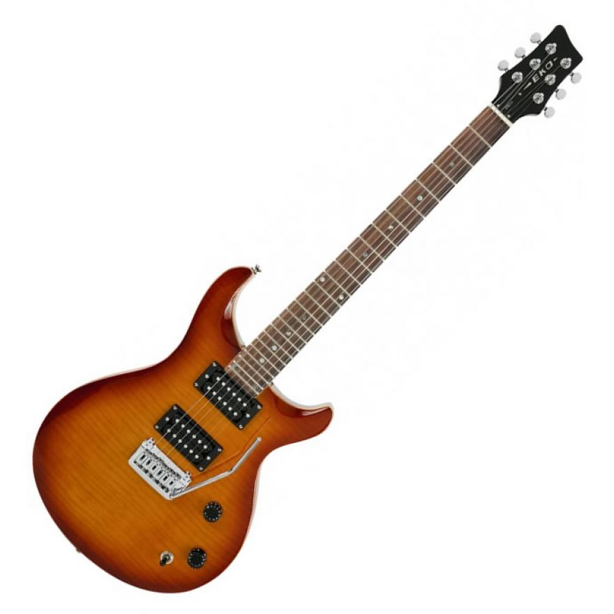 EKO EPR280 HONEY BURST FLAMED - CHITARRA ELETTRICA