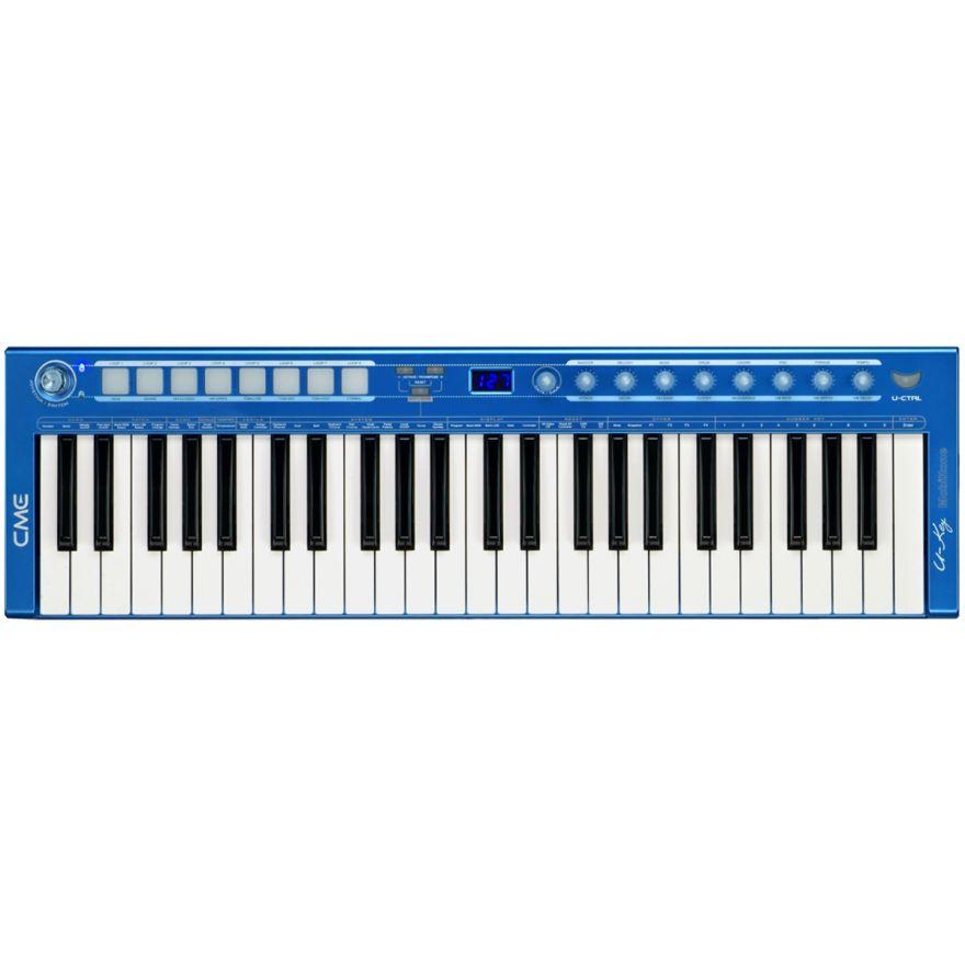 CME U-key v2 Mobiltone Blue - TASTIERA USB 49 TASTI