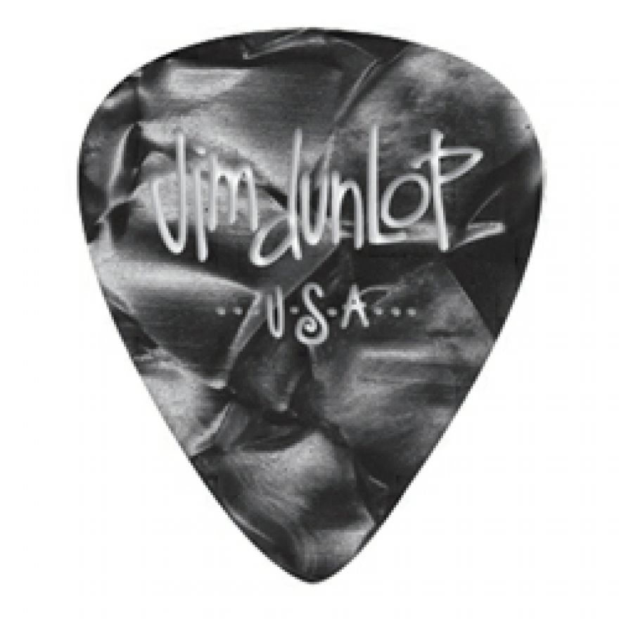 DUNLOP 483P#02 - 12 PLETTRI SPECIALTY 'GENUINE CELLULOID' MEDIUM