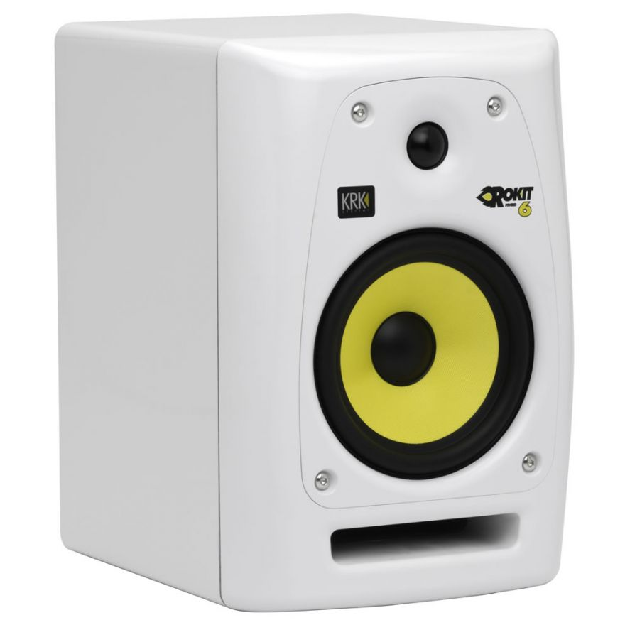 KRK RP6 G2 SE White Rokit Powered - MONITOR DA STUDIO ATTIVO