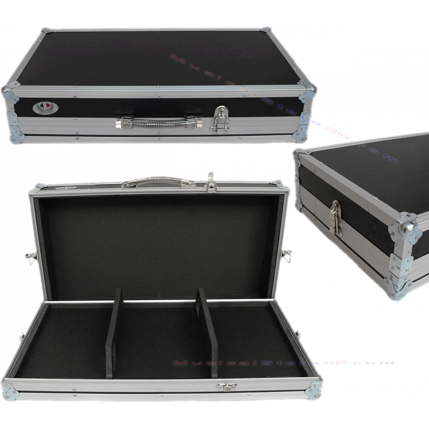 0-DJX10 Flight case per 2 l