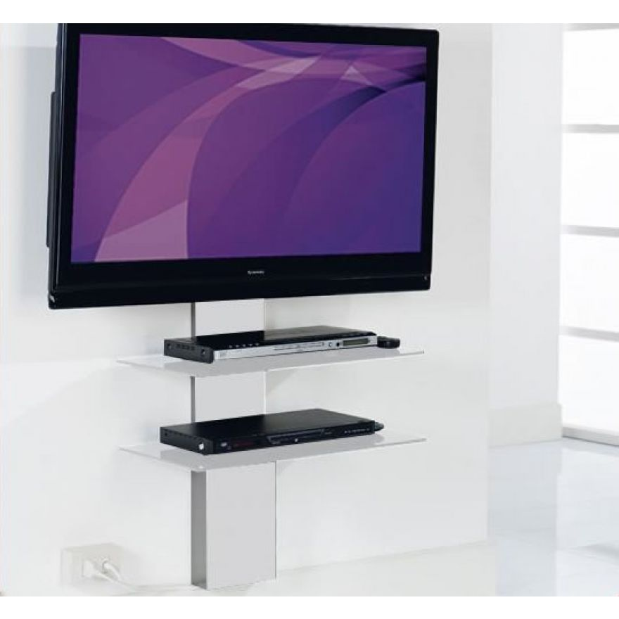 MUNARI SP902BI - STAFFA PER TV CON 2 RIPIANI