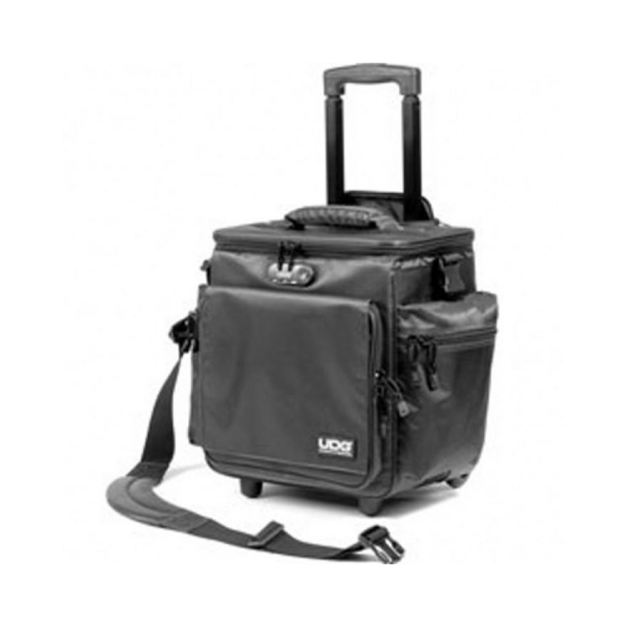 UDG SLINGBAG TROLLEY DELUXE BLACK ORANGE INSIDE
