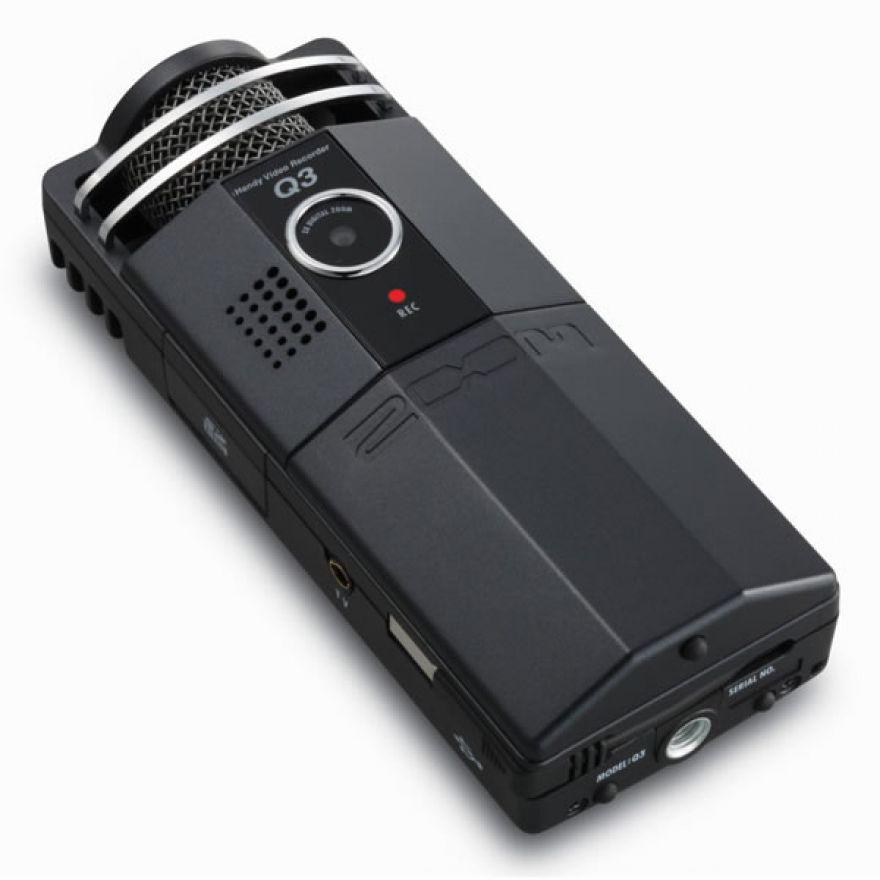 ZOOM Q3CB CLASSIC BLACK - REGISTRATORE DIGITALE AUDIO VIDEO