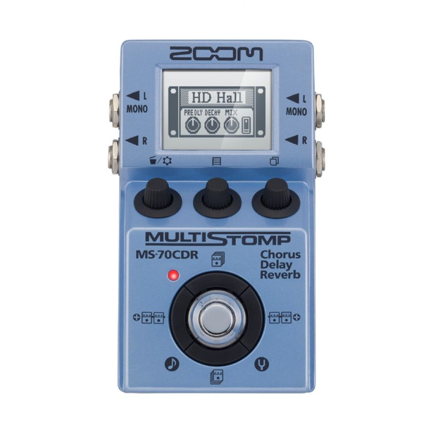 0-ZOOM MS70 CDR MultiStomp