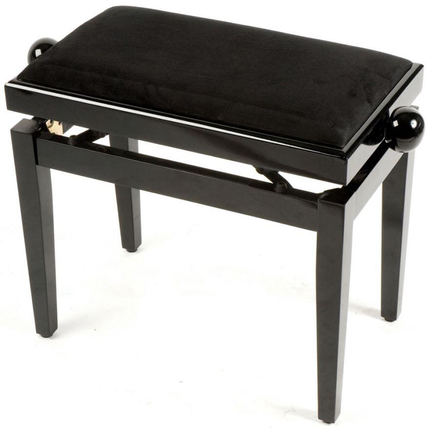 QUIKLOK PB010BK - PANCA IN LEGNO PER PIANOFORTE REGOLABILE