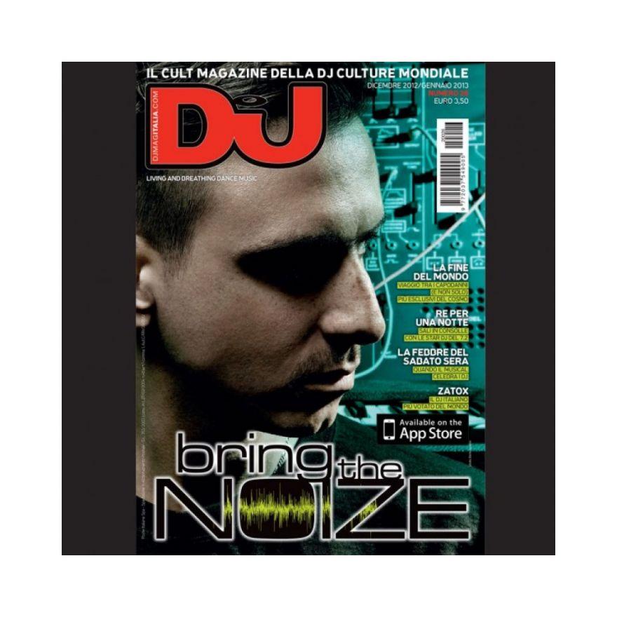 DJ MAG ITALIA DJ MAG DICEMBRE 2012 - GENNAIO 2013