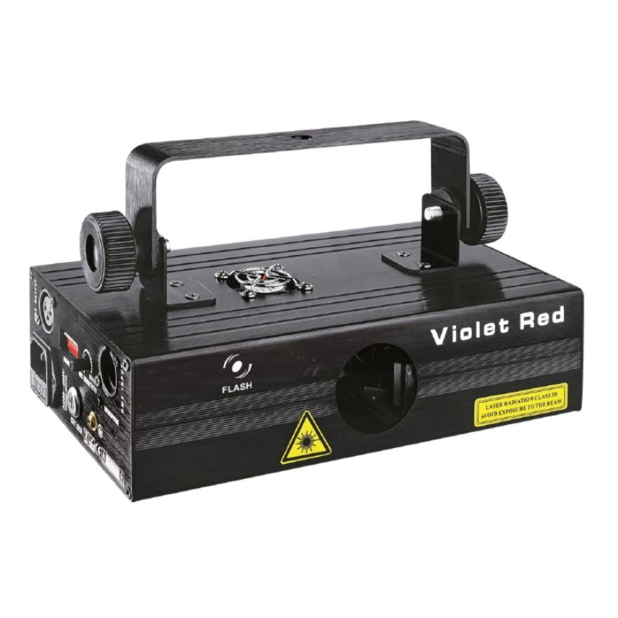 FLASH LASER VIOLET + RED 300MW