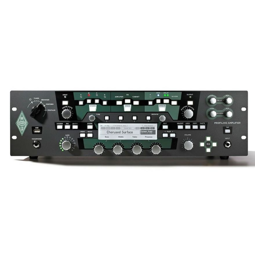 Kemper Profiler Power Rack - Testata per chitarra a rack