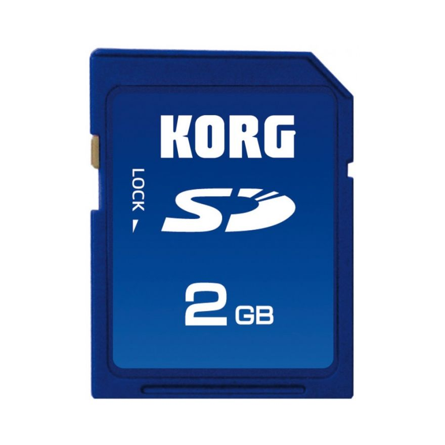 KORG - SD CARD PER SERIE PA