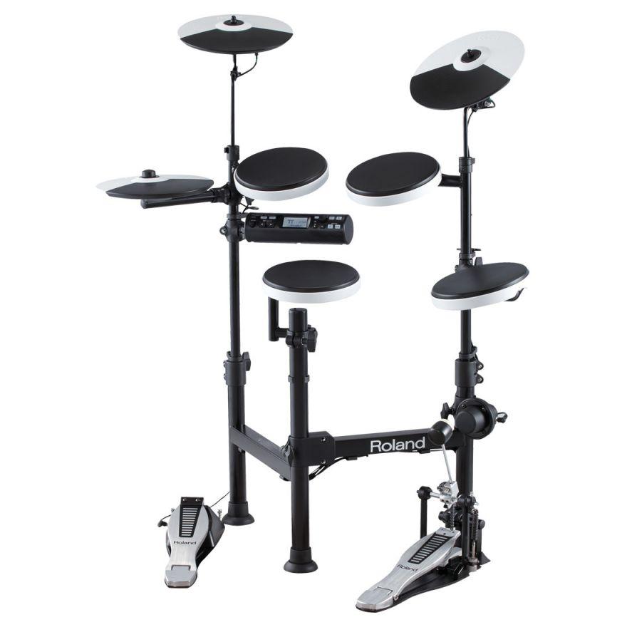 0-ROLAND TD4 KP V-Drums Por