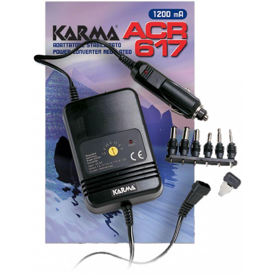 KARMA ACR 617- ALIMENTATORE PER AUTO