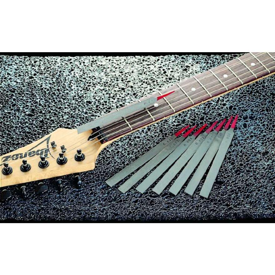 Ibanez 4449EP1 - set 8 lime per manutenzione capotasti - per chitarra