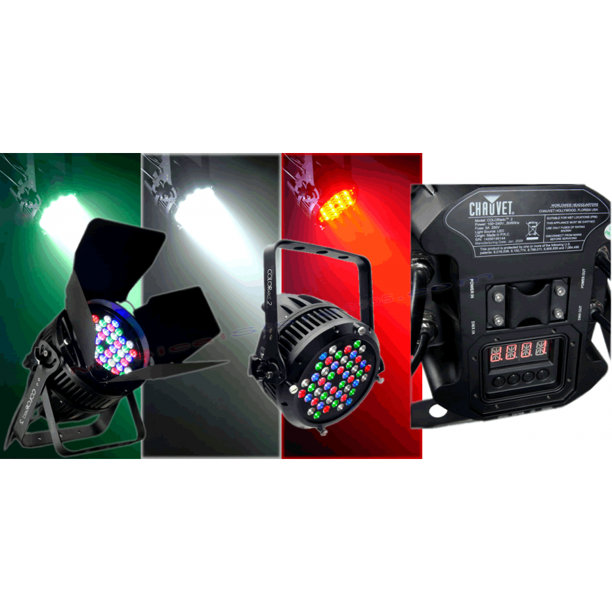 CHAUVET COLORADO 2 - ILLUMINATORE A LEDS