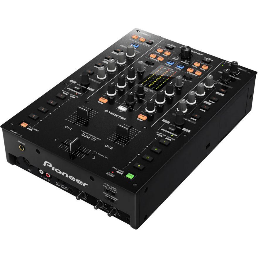 PIONEER DJM-T1 - MIXER DJ 2 CANALI + TRAKTOR SCRATCH DUO 2