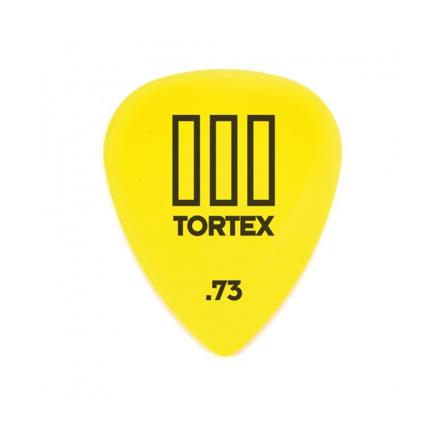Dunlop 462R Tortex III Yellow .73