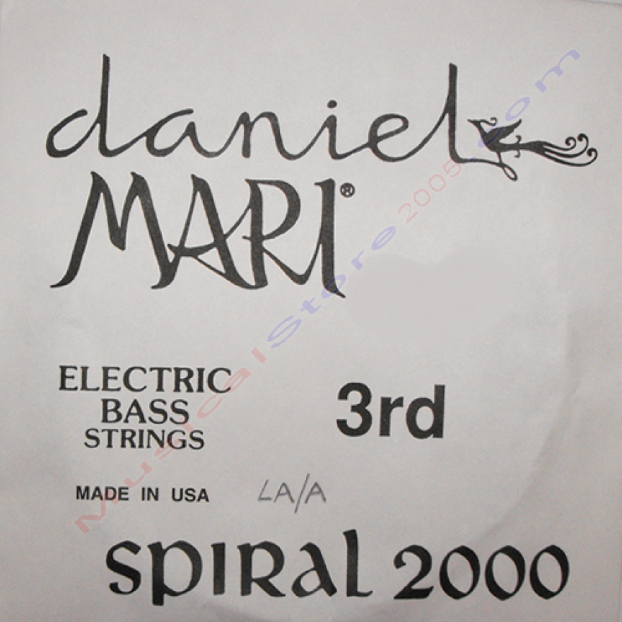 DANIEL MARI 750 3RD - CORDA SINGOLA PER BASSO ELETTRICO