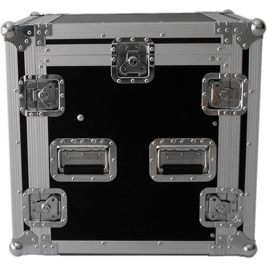 Y-CASE 10MR - FLIGHT CASE RACK 10U + MIXER