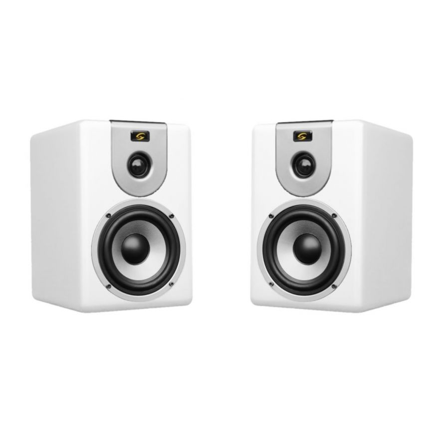 SOUNDSATION CLARITY-5A-W White - COPPIA MONITOR DA STUDIO