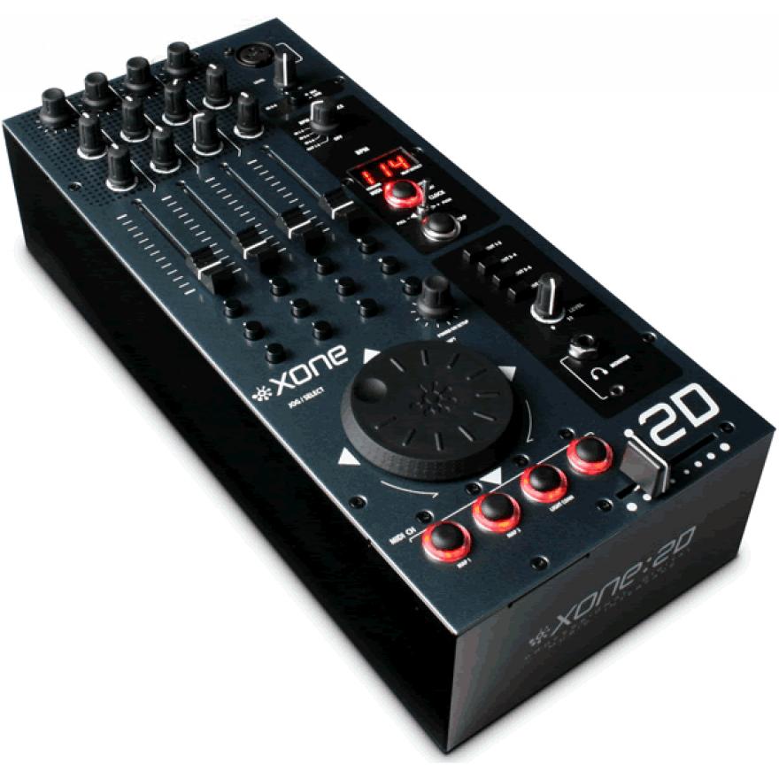 ALLEN & HEATH XONE 2D Black - MIDI USB Controller per DJ
